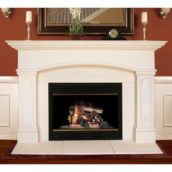 Wood Fireplace Mantel Surround Part - 40: Americast Architectural Stone Abington Fireplace Mantel Surround U0026 Reviews    Wayfair