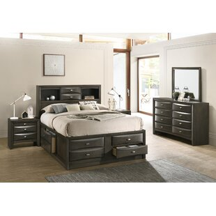 Carle Platform 4 Piece Bedroom Set