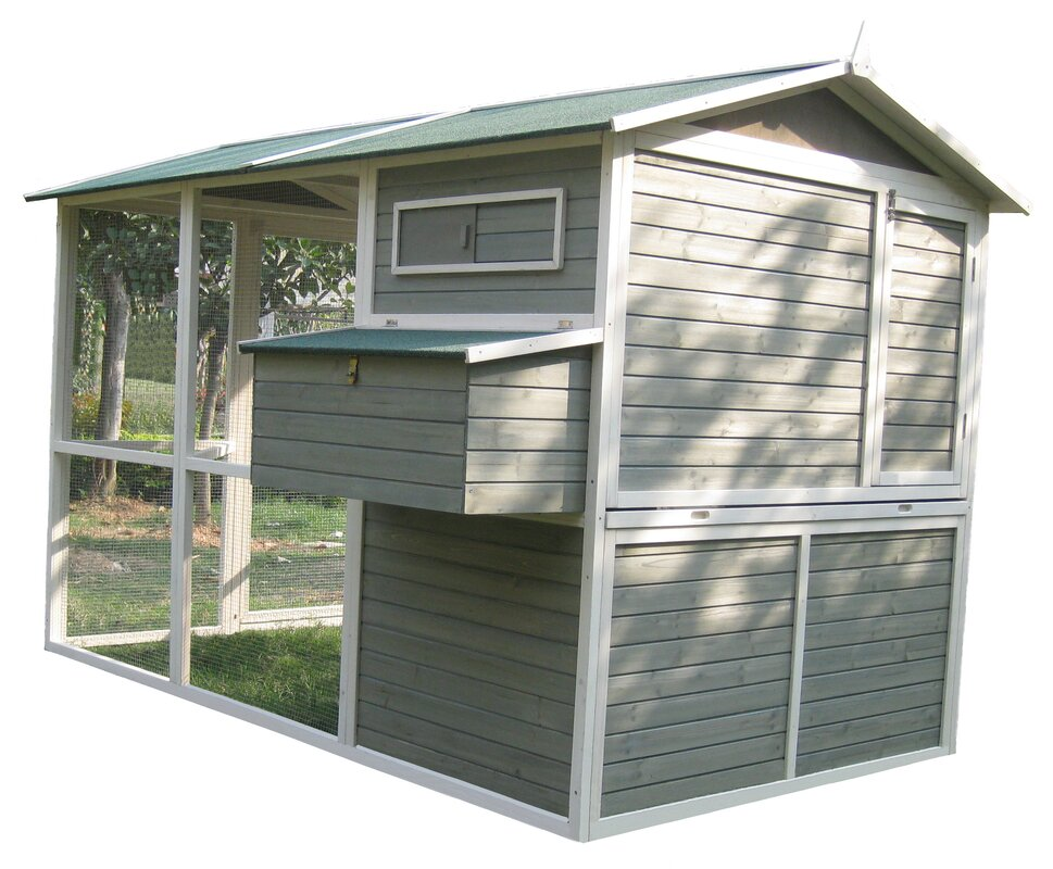 Walk In Chicken House innovation pet coops and feathers™ extreme walk-in hen coop
