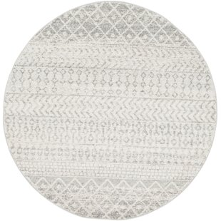 Kreutzer Distressed Global-Inspired Gray Area Rug by Union Rustic