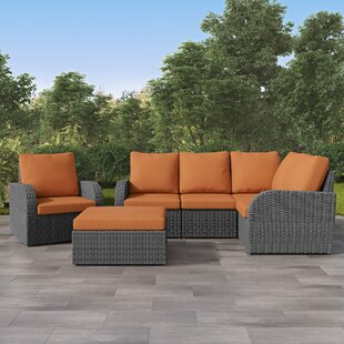 Killingworth Patio Sectional with Cushions