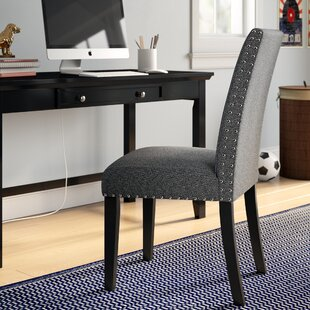 Huebert Upholstered Dining Chair by Charlton Home New