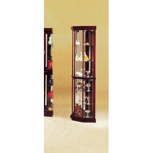 Boaz Corner Curio Cabinet