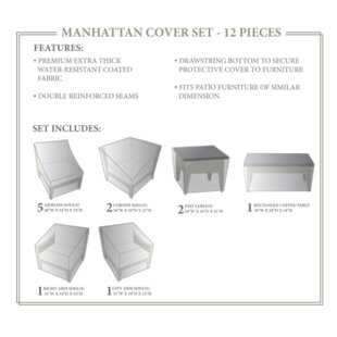TK Classics Manhattan Winter 12 Piece Cov..