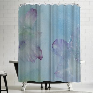 Zina Zinchik Sky Pond 1 Single Shower Curtain