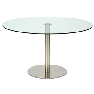 Round Glass Pub Table