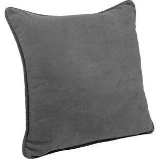 Hysley Indoor Microsuede Floor Pillow (Set of 2)