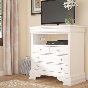 Hewitt 4 Drawer Media Chest