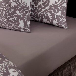 House of Hampton Gann 220 Thread Count 100% Cotton Flat Sheet