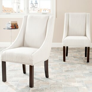 Garnica Sloping Arm Chair (Set Of 2) by Darby Home Co Top Reviews
