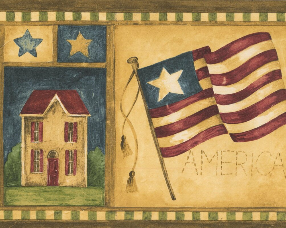 Old Fashioned American Wall Decor Ornament - All About Wallart ...