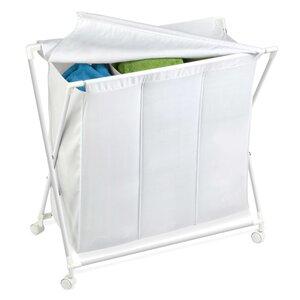 Triple Folding Laundry Sorter