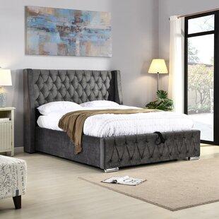 IJlst Kingsize (5') Upholstered Platform Bed By Rosalind Wheeler