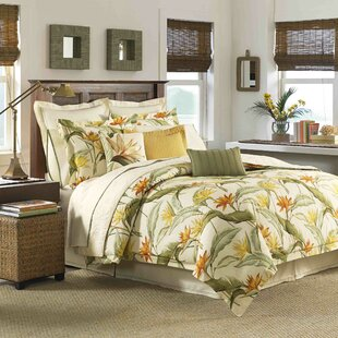 Birds of Paradise 4 Piece Comforter Set by Tommy Bahama Home