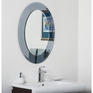Compare & Buy Cayman Bathroom Wall Mirror By Decor Wonderland