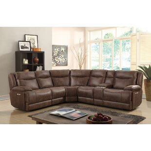 Compare & Buy Oscoda Reclining Sectional by Winston Porter Reviews (2019) & Buyer's Guide
