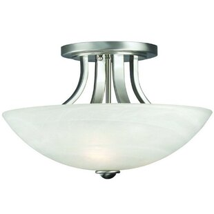 Fireside Semi Flush Mount by D..