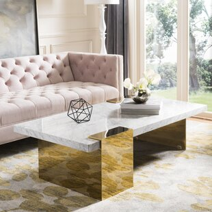 Best Price Kuhl Marble Coffee Table by Everly Quinn Reviews (2019) & Buyer's Guide