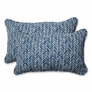 Herringbone Lumbar Pillow (Set of 2)