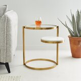 Waskom End Table by Everly Quinn