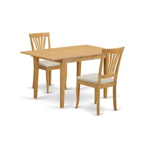 Phoenixville 3 Piece Dining Set by Thr..