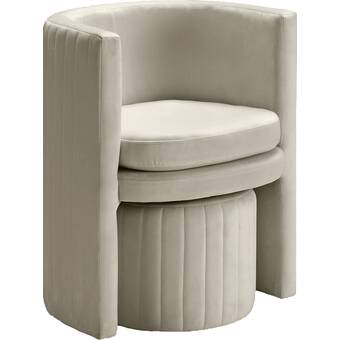 Magnificent Darvin Barrel Chair And Ottoman Reviews Allmodern Cjindustries Chair Design For Home Cjindustriesco