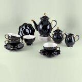 Blaise Porcelain Tea Set for 4 People