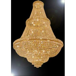 Montana 48-Light Empire Chandelier by House of Hampton