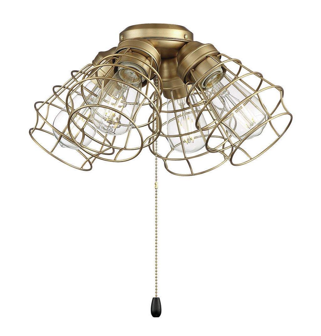 Williston Forge 4 Light Universal Ceiling Fan Light Fitter Wayfair