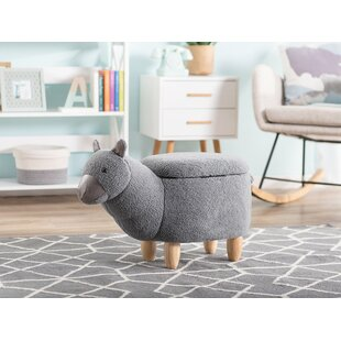 Vickers Alpaca Children's Footstool By Happy Larry