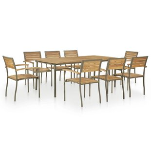 Mcmillon 8 Seater Dining Set By Sol 72 Outdoor