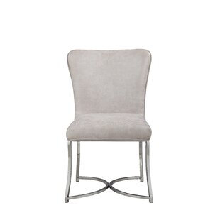Wortley Upholstered Dining Chair (Set of 2) Orren Ellis