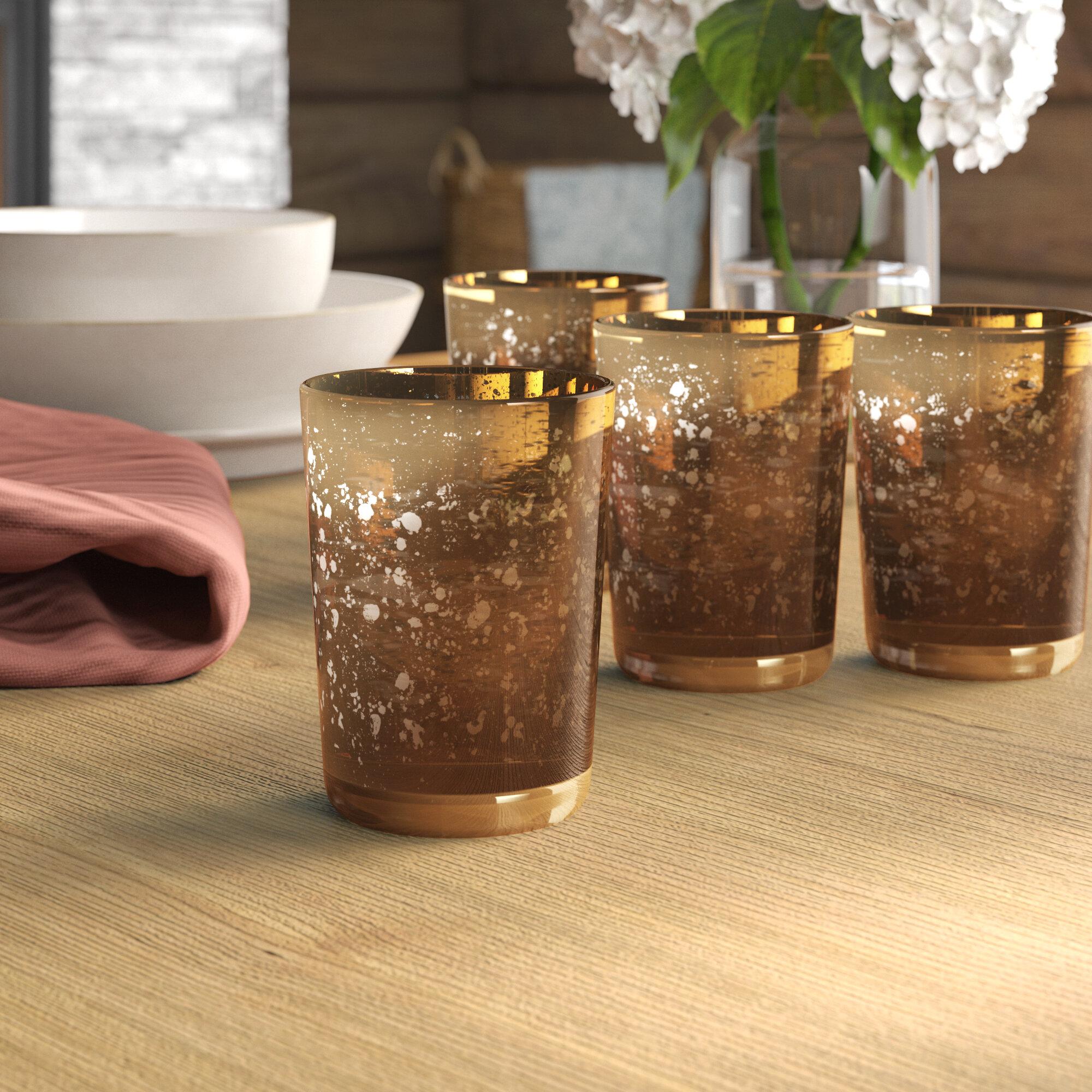 Loon Peak Rustic Small Mercury Glass Votive Holder Reviews Wayfair
