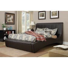 Matthew Upholstery Sleigh Bed by ACME Furniture