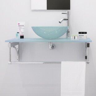 Coupon Aries 32 Wall-Mounted Single Bathroom Vanity Set ByJWH Living
