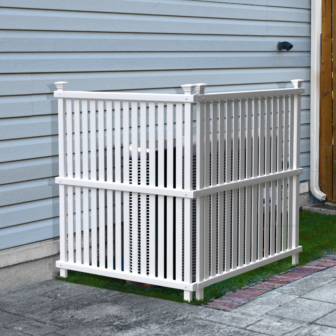 Zippity Outdoor Products 4 Ft H X 6 Ft W Wilmington Fence Panel Reviews Wayfair