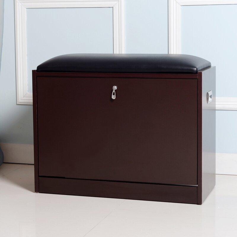 Ebern Designs 9 Pair Shoe Storage Cabinet Wayfair