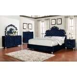 Vidal Standard 5 Piece Bedroom Set by Rosdorf Park