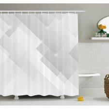 Modern Gray & Silver Shower Curtains | AllModern