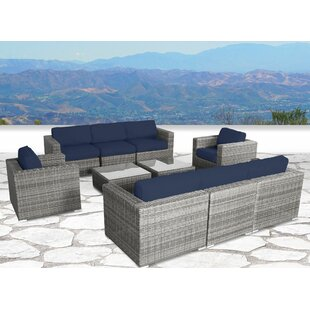 Vardin 10 Piece Sectional Set with Cushions by Rosecliff Heights