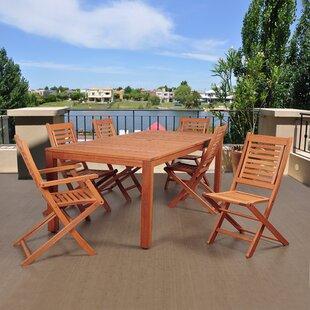 Beachcrest Home Elsmere 7 Piece Dining Set