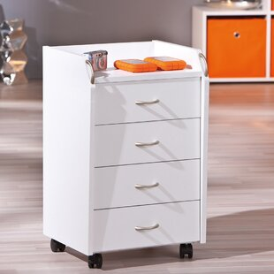 Aceline 4 Drawer Bedside Table By Mercury Row