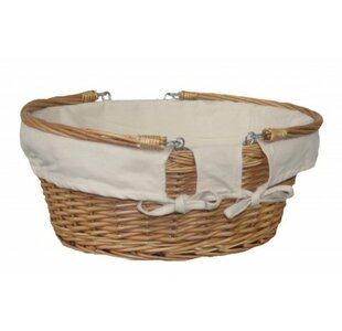 Large Swing Handle Picnic Basket By Brambly Cottage