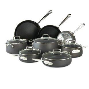 HA1 Hard Anodized 13 Piece Non-Stick Cookware Set