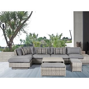 Taya 8 Piece Sectional Set with Cushions