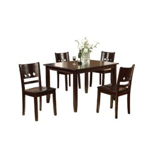 Amott 5 Piece Dining Set by Red Barrel St..