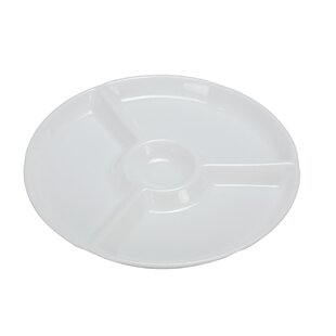 Hammer Melamine Divided Serving Dish (Set of 12)