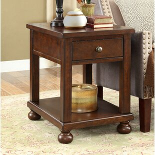 Darby Home Co Stenya End Table with Storage
