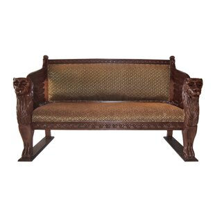 Design Toscano The Lord Raffles Settee Loveseat