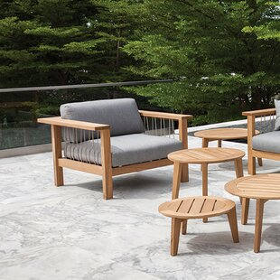 Maro Teak Patio Chair with Cushions